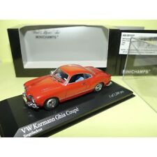 VW KARMANN GHIA COUPE 1966 Rouge Red MINICHAMPS 1:43