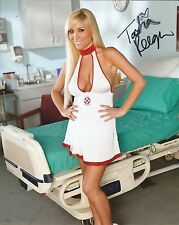 Tasha Reign Naughty Nurse Adult Model Signed 8x10 Photo COA Proof Live
