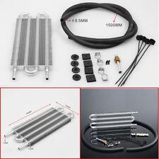 Universal Aluminum Remote Transmission Oil Cooler Kit Auto/MT Radiator Converter
