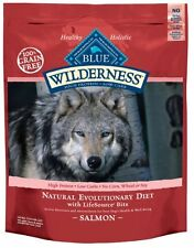 Blue Buffalo Wilderness Grain Free Dry Dog Food, Salmon Recipe, 24-Pound Bag , N