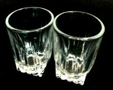 "New ListingShot Glasses set of 2 Barware glassware measure ounce alcohol mix drinks 2"" Tall"
