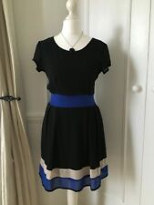 WalG For Topshop Mini Dress in 'Black, Blue & White' (S/M) (RRP £35) 10% Disc.