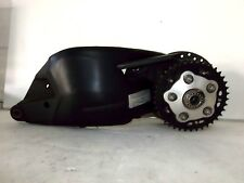 Swingarm Assembly 07-14 DUCATI EVO 848 BLACK WITH QUICK CHANGE SPROCKET CARRIER