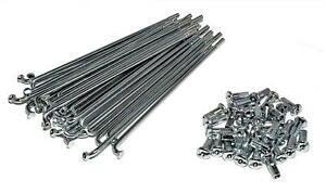36-teiliger Speichensatz 128 mm Stahl + Nippel für Simson-Felge