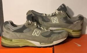 New Balance 992 Gray Running Men's Shoes Size 14 D M992GL