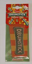Retro Sweets DRUMSTICK Car Air Freshener RASPBERRY/MILK Home Office Caravan