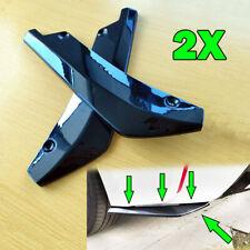Car Rear Bumper Corner Side Scratch Diffuser Splitter Strap Guard Spoiler 2x  PP