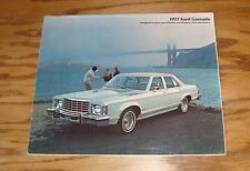 Original 1977 Ford Granada Sales Brochure 77