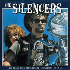 """THE SILENCERS Love Theme From Motorpsycho 7"""" . instro dick dale alan arrow"""