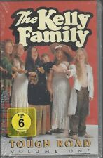 THE KELLY FAMILY TOUGH ROAD - VOLUME ONE- VHS VIDEO CASSETTE PAL* NEW * NEU *