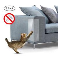 2 x Pet Cat Scratch Guard Mat Cat Scratching Post Furniture Sofa Protectors Home