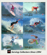 1995 Futera Australia Hot Surf Trading Cards Hot Gold Card Hg1 Kelly Slater