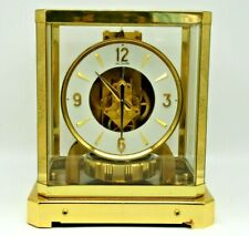 FULLY SERVICED 1960s JAEGER LECOULTRE 528 ATMOS CLOCK #137000 SWISS TIME WORKING