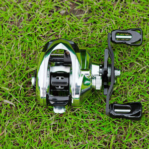 Baitcasting Fishing Reel 7.2:1 High Speed Baitcaster Reel Lure Wheel 6kg Drag AU