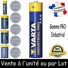 Piles VARTA au choix LR03 LR6 LR14 LR20 6LR61 CR2016 CR2025 CR2032 CR2430 CR2450