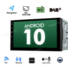 Android 10 HD 7inch 2DIN Car Stereo Radio Player WIFI GPS OBD Sat Nav DSP No DVD