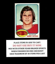 1976 TOPPS FOOTBALL #401 TO #528 SELECT CARDS FROM OUR LIST