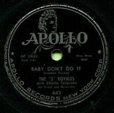 FIVE ROYALES (Baby, Don't Do It / Take All Of Me) R&B/SOUL 78  RPM  RECORD