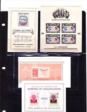 Stamps/Mixed S.A. lot including:Honduras #C100, Argentina #B18 & B25, Brazil 901