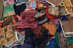 5 Hippie HandBags Ex Market Stock Random Selection Vintage Rucksack Satchel Boho