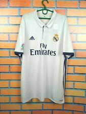 Real Madrid Jersey 2016 2017 Home Xxl Shirt Adidas Football Soccer S94992