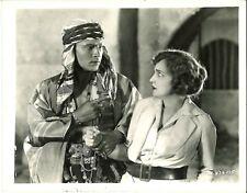 THE SHEIK (1921) Rudolph Valentino Warns His Captive Agnes Ayres Silent Film