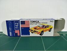 REPRODUCTION BOX for Tomica Blue Box No.F42 Pontiac Firebird Transam