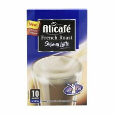 Alicafe French Roast Skinny Latte coffee with creamer and sugar