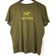 Arcteryx Mens Medium Olive Green T Shirt Shirt Sleeve