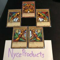 YUGIOH! COMPLETE EXODIA SET ALL 5 PIECES! The Forbidden One Common LDK2