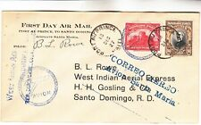 Haiti West Indian Aerial First Day Airmail Cover