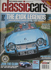 Classic Cars 09/2002 featuring BMW M635SCi, Jaguar XJS, Mecedes, Ferrari,Triumph