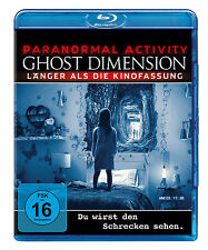 Blu-ray * PARANORMAL ACTIVITY : GHOST DIMENSION # NEU OVP +