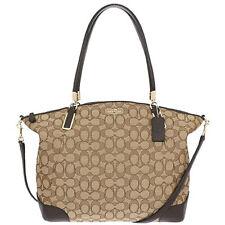 NWT $350 Coach Kelsey Satchel Signature Shoulder Bag Tote Handbag Crossbody NEW