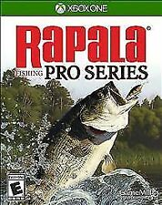 RAPALA FISHING PRO SERIES XBOX ONE NEW! FISH TOURNAMENT, TROUT, BASS, CATFISH