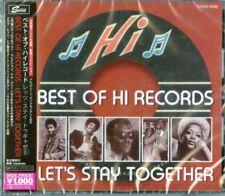 V.A.-BEST OF HI RECORDS-LET'S STAY TOGETHER-JAPAN CD Ltd/Ed B63