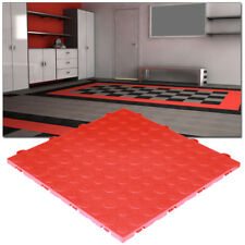 Garage Tiles | Coin Top Red - Made In the USA