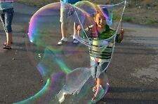 Monster Bubbles Kit - (2) Wand (2) Bubble. Big Huge Giant Bubbles. Free Shipping