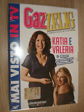 DVD N° 9 ZELIG GAZZELIG KATIA E VALERIA IN BASE PER ALTEZZA DIVISO DUE