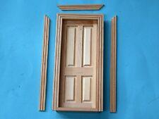 1/12 scale Dolls House  Internal 4 Panel Door   CV125