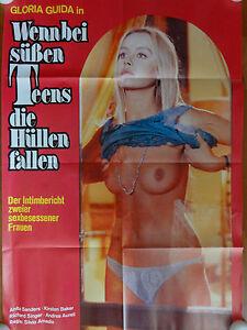 Gloria Guida WENN BEI SÜßEN TEENS DIE HÜLLEN FALLEN Plakat