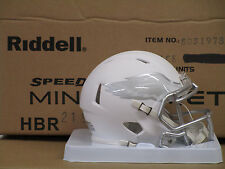 Philadelphia Eagles WHITE ICE Riddell NFL Football Team SPEED Mini Helmet