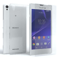 Eazy Case Sony Xperia T3 Hülle Schutzhülle Handy Silikon + Schutzglas