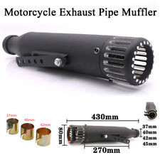 Universal Motorcycle Exhaust Pipe Muffler Modified Cafe Racer Bobber Street Bike