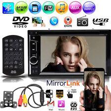 6.2inch 2DIN Car MP5 Player Bluetooth Stereo Radio HD Mirror For GPS+Rear Camera
