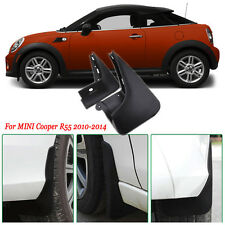 4pcs Heavy Duty Molded Splash Mud Flaps Guards Fenders For Mini Cooper R55 10-14