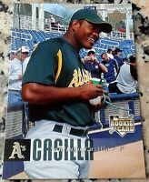 SANTIAGO CASILLA 2006 Upper Deck Lot of 2 Rookie Card RC Giants World Series A's