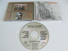 DEATH IN ACTION Just for Our Sake CD 1990 VERY RARE OOP THRASH ORIG 1st PRESS!!!