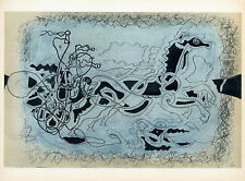 Georges Braque lithograph for Carnets Intimes
