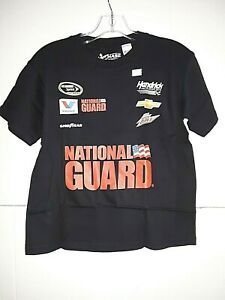 Dale Earnhardt Jr # 88 Nascar Black Youth Uniform Shirt, XL